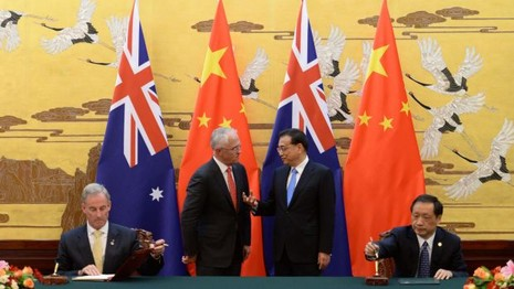 Lầu Năm Góc nhắn nhủ: 'Úc phải chọn hoặc Mỹ hoặc Trung Quốc'