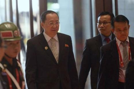 Ngoại trưởng Triều Tiên đến Bắc Kinh sau vụ thử hạt nhân - ảnh 1