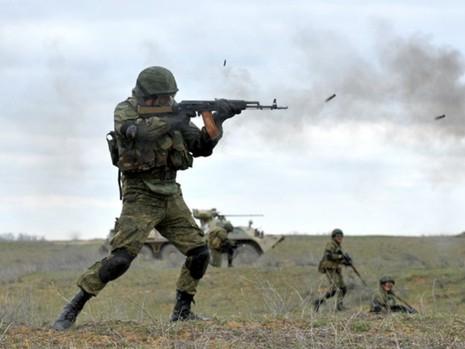 Nga liên tiếp tiến hành tập trận trong thời gian gần đây. Ảnh: GETTY