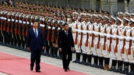 Ông Tập Cận Bình gọi Duterte là 'anh em chung dòng máu'