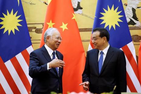 Malaysia-Trung Quốc ký thỏa thuận 'khủng' gần 35 tỉ USD