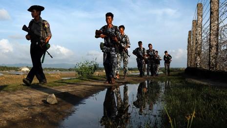 Biên giới Trung Quốc-Myanmar trong tình trạng báo động - ảnh 1
