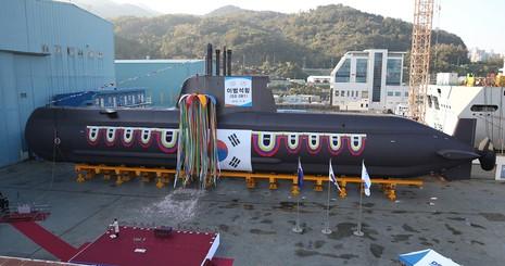 Hàn Quốc ra mắt tàu ngầm tấn công mới nhất - ảnh 1