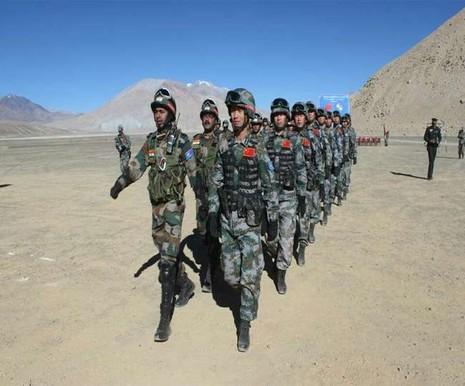 Trung Quốc - Ấn Độ khởi động tập trận 'Tay trong tay' - ảnh 1