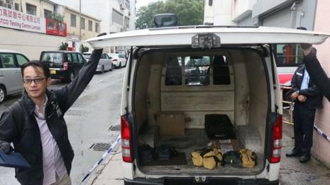 Táo bạo cướp xe vàng hơn 2,5 triệu USD tại Hong Kong