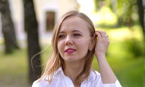 Ái nữ trẻ đẹp của bộ trưởng Ukraine có vị trí quyền lực - ảnh 1