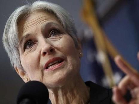 Bà Jill Stein, ứng viên tổng thống của đảng Xanh. Ảnh: GETTY