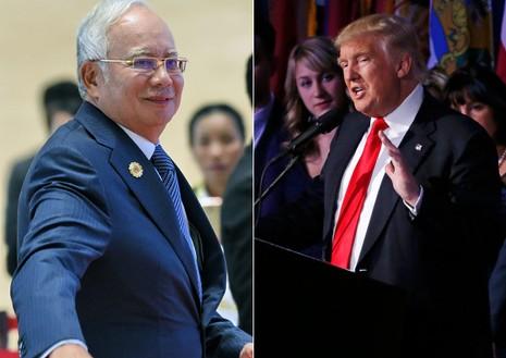 Trump điện cho thủ tướng Malaysia, thắt chặt quan hệ - ảnh 1