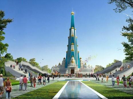 Ấn Độ xây ngôi đền cao nhất thế giới