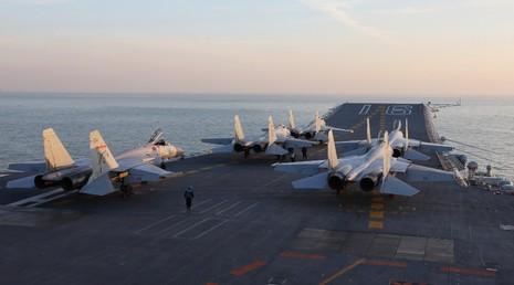 Trung Quốc điều tàu sân bay tới Tây Thái Bình Dương - ảnh 1