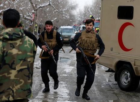Tòa án tối cao Afghanistan bị đánh bom, 21 người chết - ảnh 2
