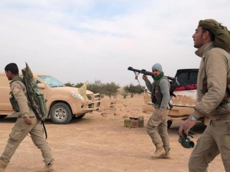 Thành trì của IS ở Syria sẽ bị cô lập mùa xuân này - ảnh 1