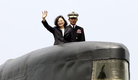 Đài Loan quyết tự đóng tàu ngầm chống Trung Quốc - ảnh 1