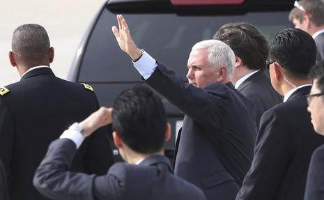 Phó Tổng thống Mỹ chỉ trích Triều Tiên 'khiêu khích' - ảnh 1