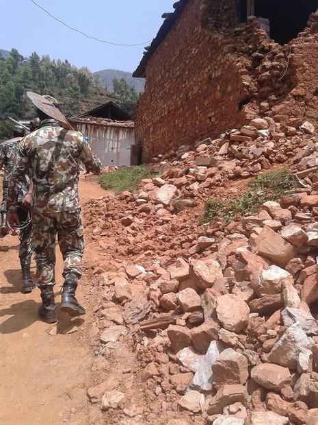 Ở nơi nhiều người chết nhất Nepal - ảnh 15