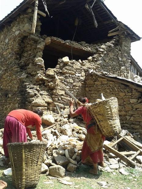Ở nơi nhiều người chết nhất Nepal - ảnh 5