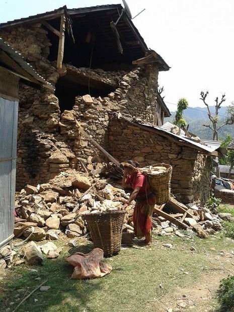 Ở nơi nhiều người chết nhất Nepal - ảnh 6