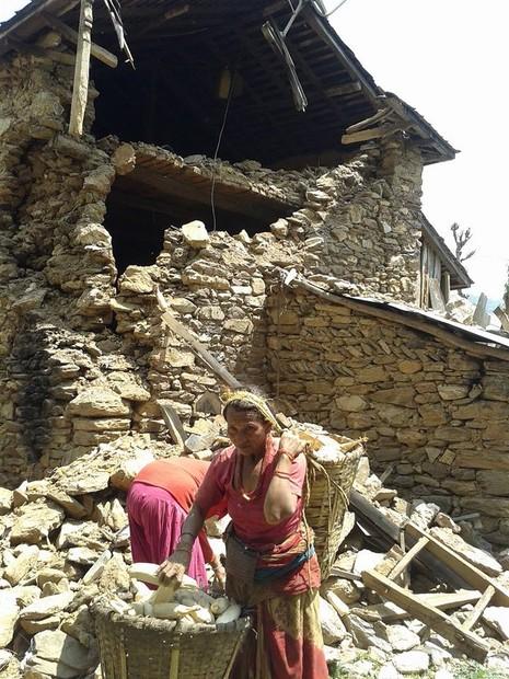 Ở nơi nhiều người chết nhất Nepal - ảnh 7