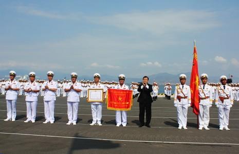 Hải quân Việt Nam hùng mạnh để bảo vệ đất nước  - ảnh 1
