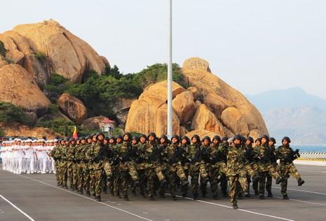 Hải quân Việt Nam hùng mạnh để bảo vệ đất nước  - ảnh 2