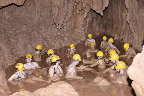 Khám phá 'tắm bùn hang động' tại Phong Nha - Kẻ Bàng - ảnh 3