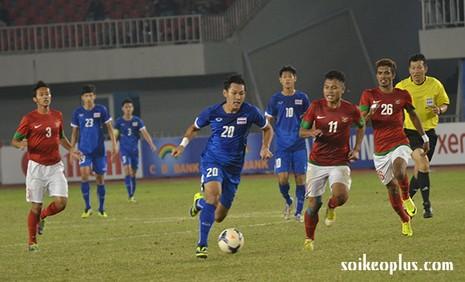 Bán kết 2: U23 Thái Lan nghiền nát U-23 Indonesia 5-0 - ảnh 1