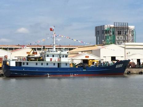 Bàn giao tàu trinh sát hiện đại cho Bộ Tư lệnh Cảnh sát biển - ảnh 1