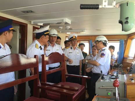 Bàn giao tàu trinh sát hiện đại cho Bộ Tư lệnh Cảnh sát biển - ảnh 2