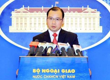 Yêu cầu Đài Loan chấm dứt hành động phi pháp trên đảo Ba Bình  - ảnh 1