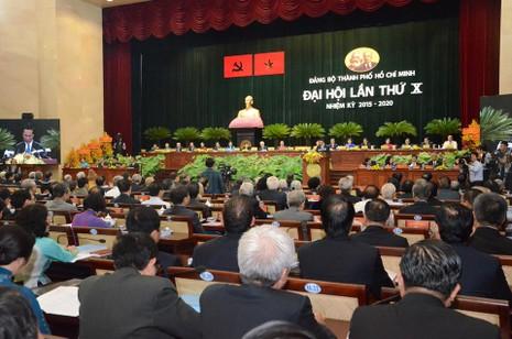 Khai mạc Đại hội Đảng bộ TP.HCM lần thứ X nhiệm kỳ 2015-2020 - ảnh 1