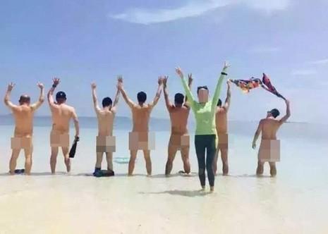 Truy tìm nhóm du khách Trung Quốc khỏa thân tập thể ở Malaysia - ảnh 1