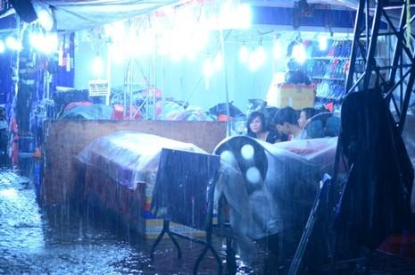 Sài Gòn mưa như trút, gần 500 gian hàng triển lãm 'chết đứng' - ảnh 4