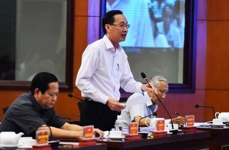 Phó Chủ tịch UBND TP Lê Thanh Liêm