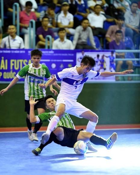 Cúp quốc gia môn Futsal: 'Tuyển quốc gia' vô địch quốc gia đều bị loại - ảnh 1