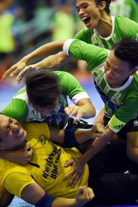 Cúp quốc gia môn Futsal: 'Tuyển quốc gia' vô địch quốc gia đều bị loại - ảnh 3
