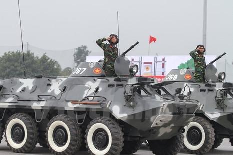 Bộ trưởng Trần Đại Quang phát lệnh xuất quân bảo vệ Đại hội Đảng - ảnh 11