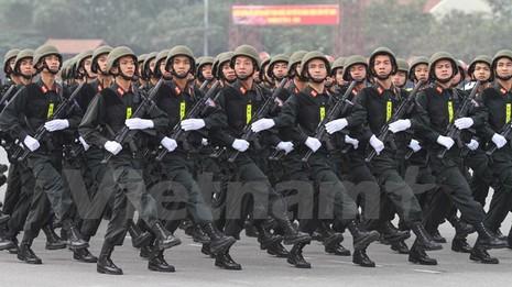 Bộ trưởng Trần Đại Quang phát lệnh xuất quân bảo vệ Đại hội Đảng - ảnh 6