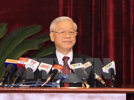 Toàn văn phát biểu của Tổng Bí thư tại Hội nghị Trung ương 14 - ảnh 1