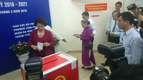 Lời gửi gắm tới cử tri của Chủ tịch QH Nguyễn Thị Kim Ngân - ảnh 2