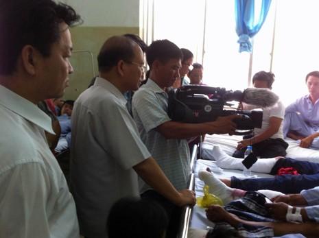 Bí thư, chủ tịch tỉnh Bình Thuận trực tiếp đến hiện trường chỉ đạo - ảnh 1