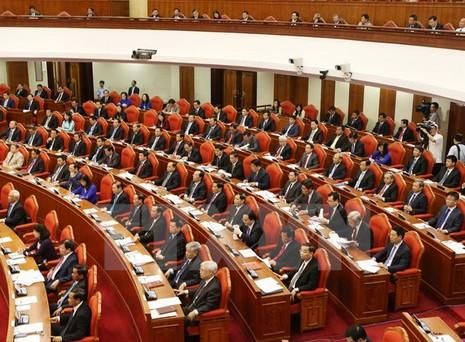 Trung ương nghe báo cáo về dự thảo Quy định thi hành Điều lệ Đảng - ảnh 1