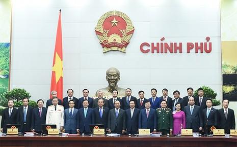 Trao quyết định bổ nhiệm của Chủ tịch nước cho các thành viên Chính phủ - ảnh 1