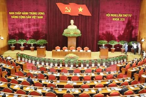 Bế mạc Hội nghị Trung ương 4 khóa XII - ảnh 1