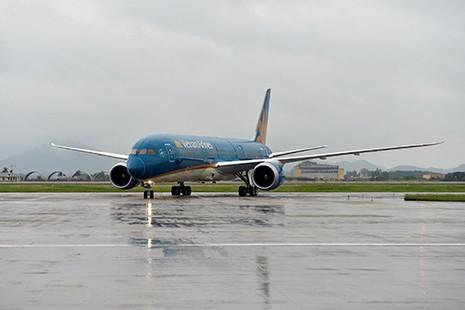 Vietnam Airlines nhận máy bay Boeing 787-9 đầu tiên - ảnh 1