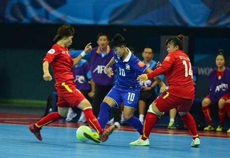 Thua Thái Lan 2-1, tuyển nữ Futsal Việt Nam bị loại - ảnh 1