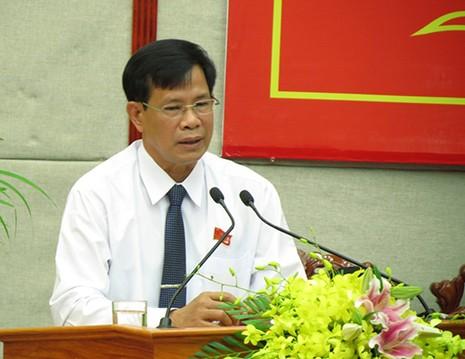 Chỉ huy trưởng BCH quân sự Hậu Giang được giới thiệu ứng cử phó bí thư tỉnh - ảnh 1