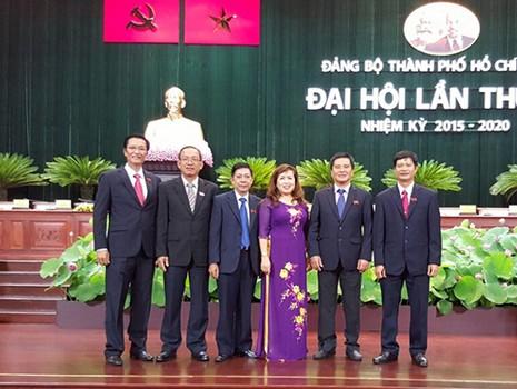 Đoàn đại biểu khối Ngân hàng dự ĐH Đảng bộ TP.HCM lần X - ảnh 1