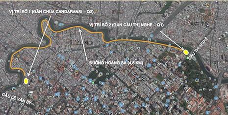 Mở xe điện phục vụ khách du lịch kênh Nhiêu Lộc - Thị Nghè - ảnh 2