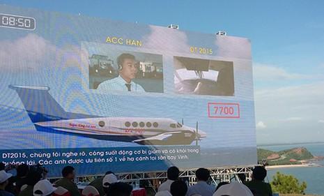 Hàng chục tàu biển, tàu bay… diễn tập cứu nạn hàng không - ảnh 1
