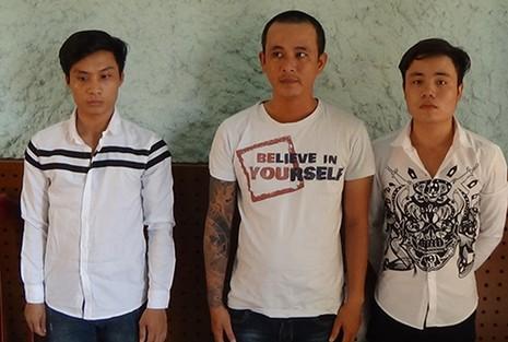 Hai nhóm giang hồ Hải Phòng bị bắt ở An Giang - ảnh 1